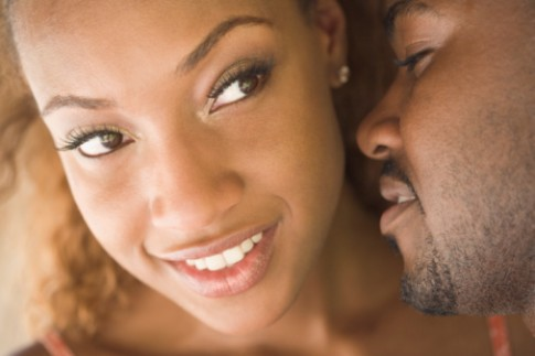 black-couple-kissing